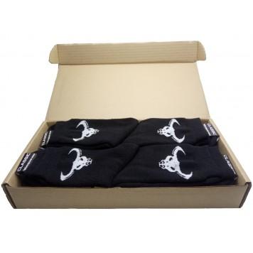 Носки с быком, махровые, черные - 8 пар-5