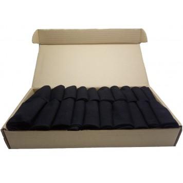 Набор мужских черных носков в коробке - Стандарт, 20 пар