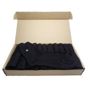 Набор мужских черных носков в коробке - Стандарт, 20 пар-1