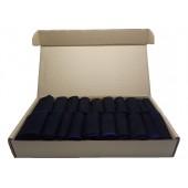 Набор мужских черных носков в коробке - Премиум, 20 пар